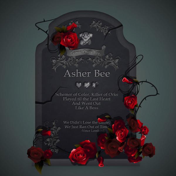 Asher Bee Gravestone