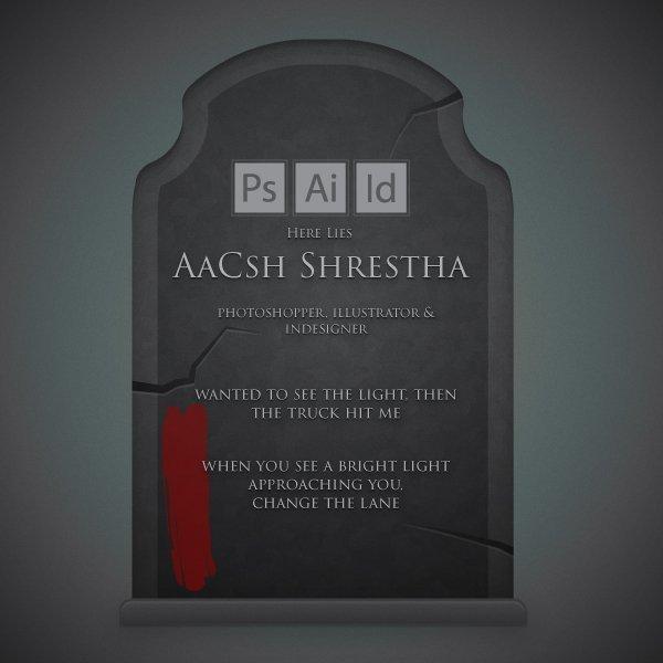 AaCsh Shrestha Gravestone