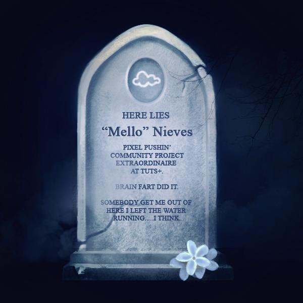 Melody NIeves Gravestone