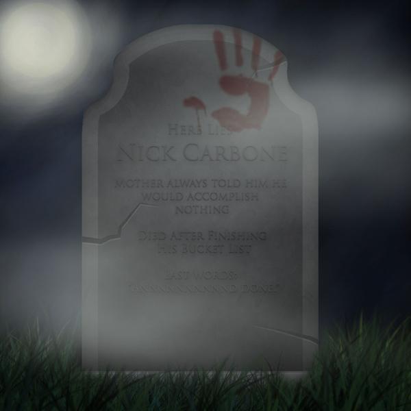 Nick Carbone Gravestone