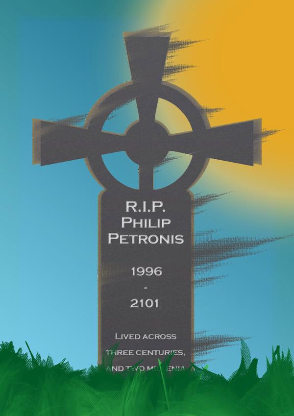 Philip Petronis Gravestone