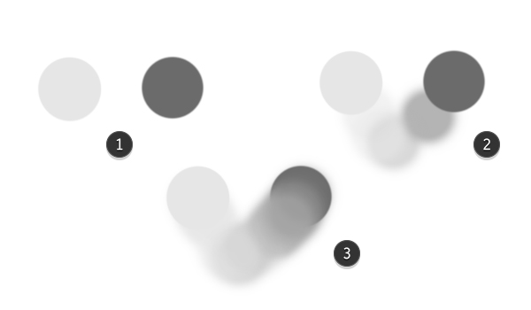 Using the Blending Technique in Grayscale