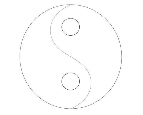 The Final Yin Yang Sketch