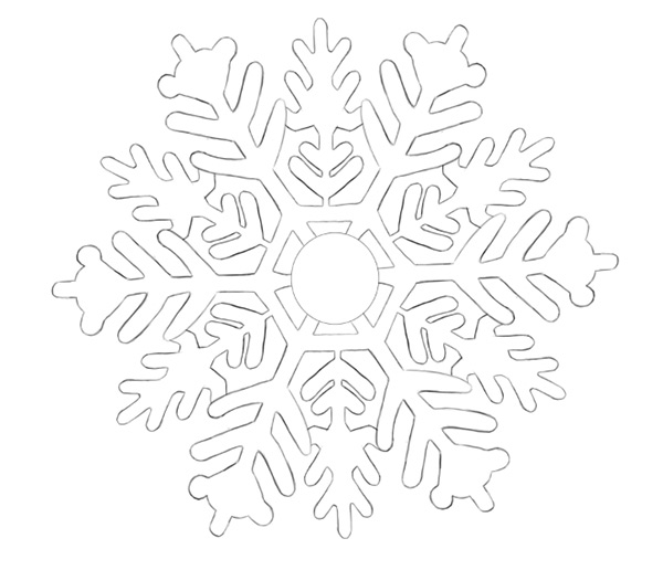 The Final Snowflake Sketch
