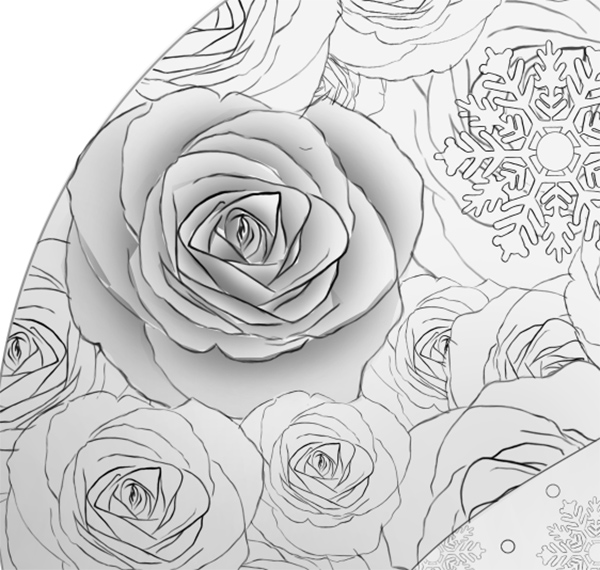 The Complete Shading for One Rose