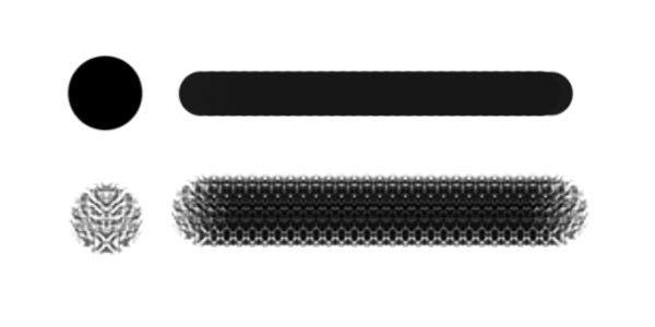 Standard Versus Texture Brushes