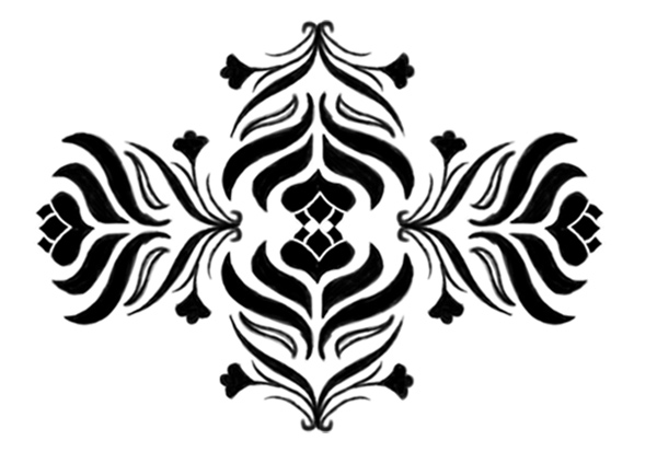Create a Custom Damask Design Brush