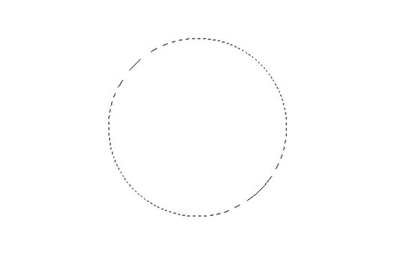 Use the Marquee Tool to create a circle