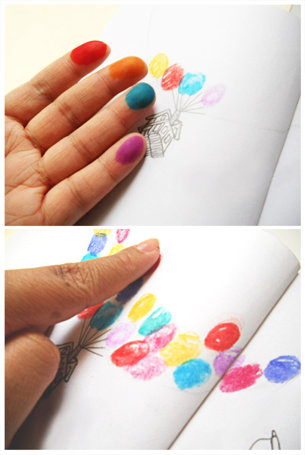 Create a Fingerprint Stamp Balloon Effect