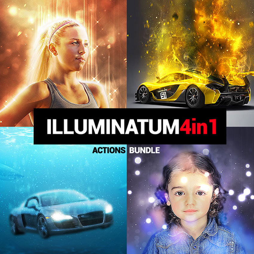 Illuminatum - Photoshop Actions Bundle