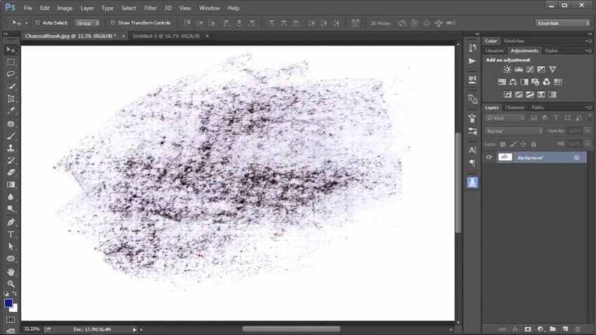Photoshop in 60 Seconds: Create a Custom Texture Brush