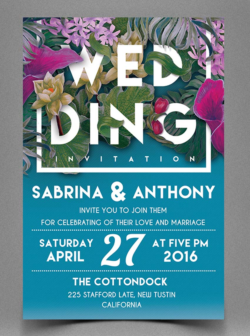 10 design tips for creating amazing wedding invitations floral wedding invitation stopboris