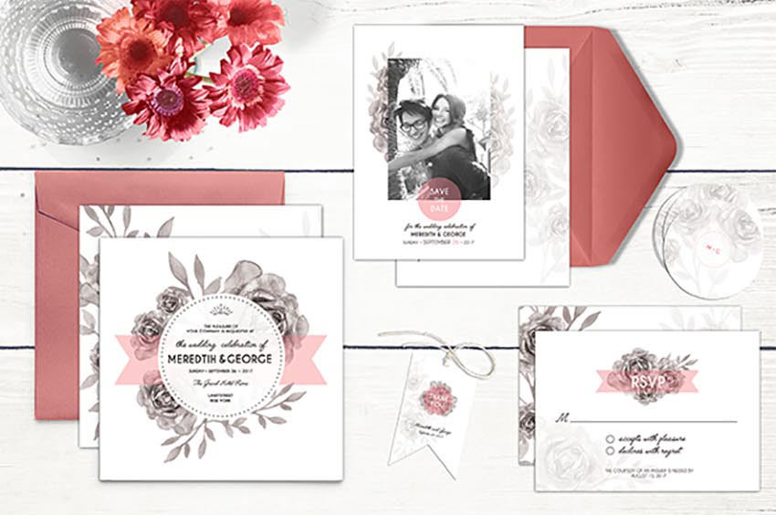 Wedding Initation Stationery