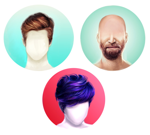 How to Paint Realistic Hair in Adobe Photoshop: Short Hair & Beards