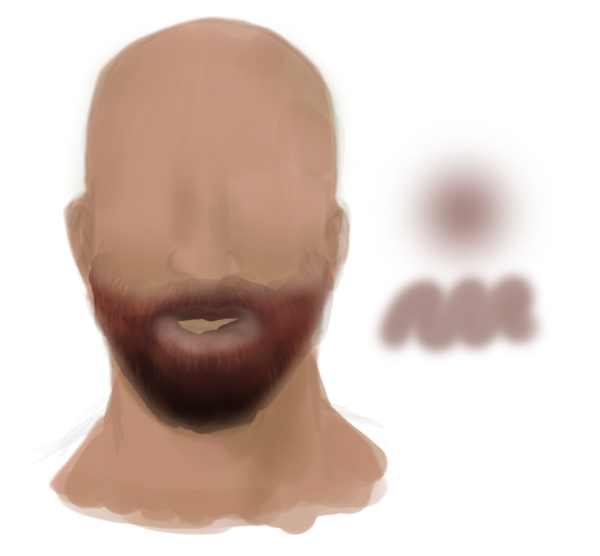 Paint Realistic Beards and Facial Hair with Soft Brushes