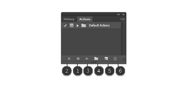 Photoshop Actions Panel