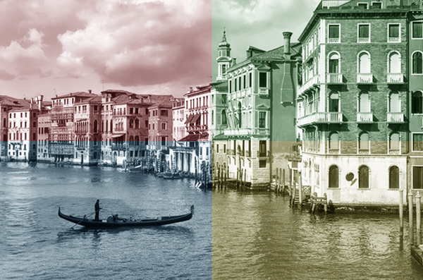 Quadrant Colors Action in the Photoshop Actions Panel