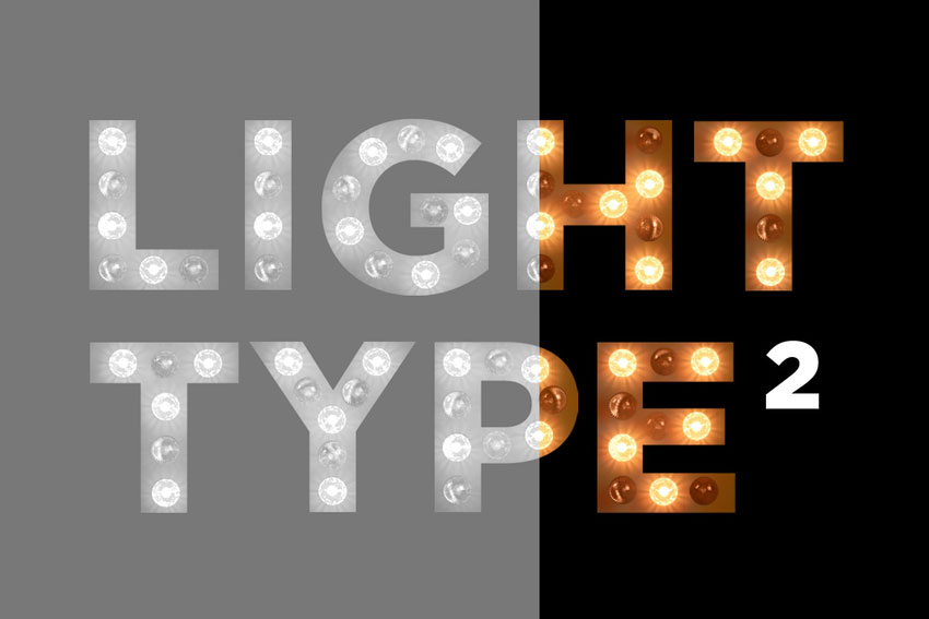 Light Bulb Type Template