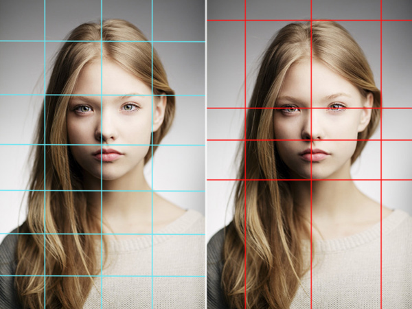 How to Digitally Paint Faces with Grids and Guidelines in Photoshop