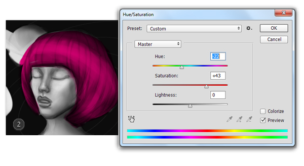 Use Hue and Saturation to Change Colors in Adobe Photoshop