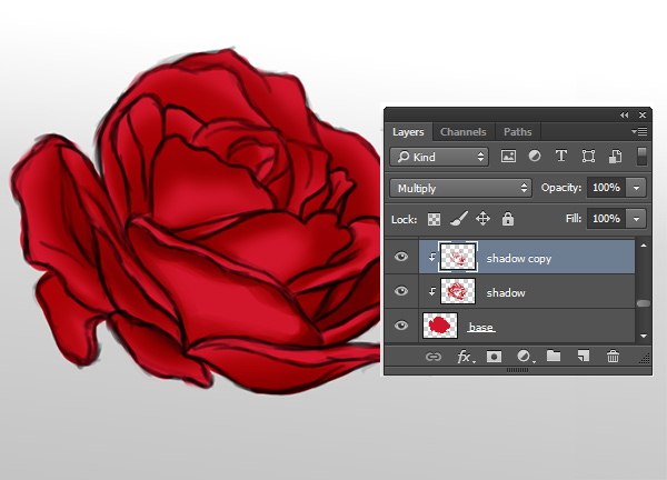 How to Shade a Painting in Adobe Photoshop