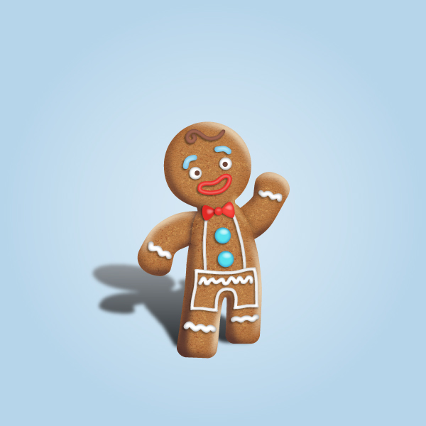 Gingerbread Man Character Design Tutorial