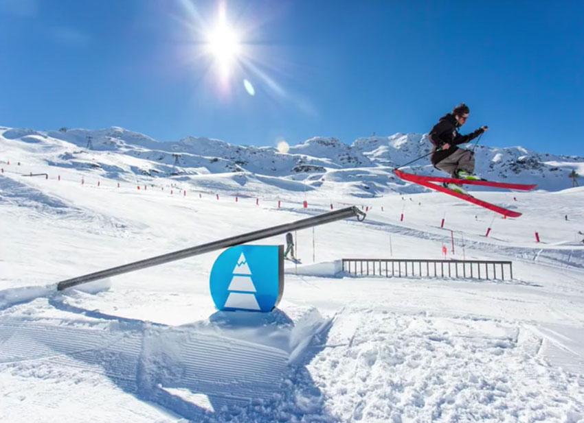 Skiing Image Example