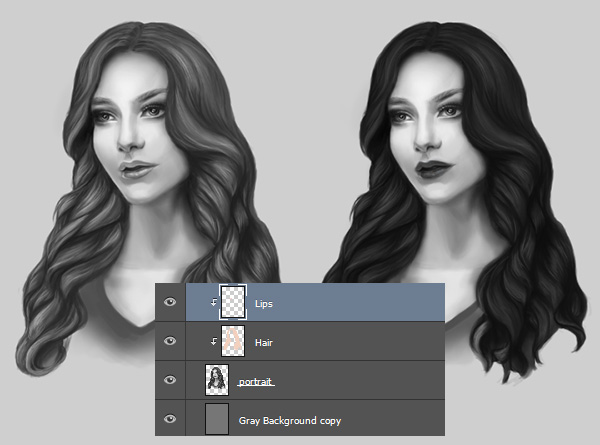 Use Subtract to Add Color to a Digital Painting