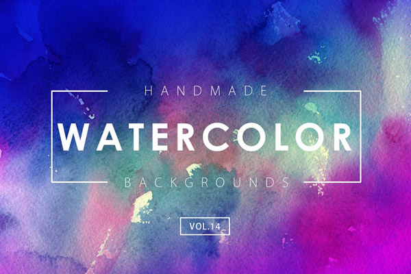 Handmade Watercolor Backgrounds