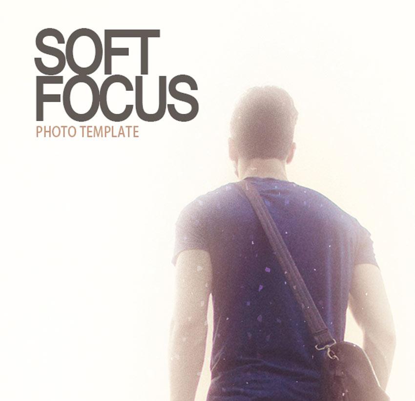 soft focus photo template