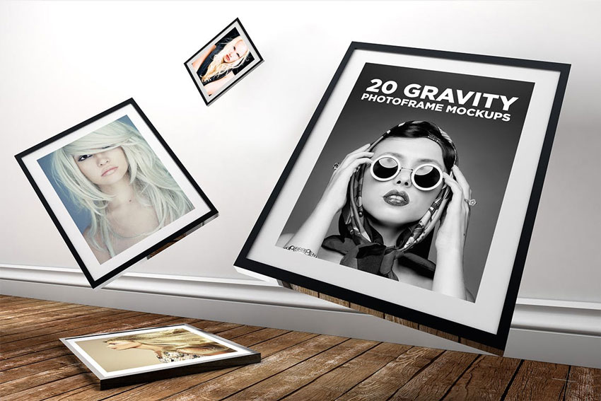 Gravity Photo Template