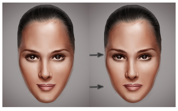 Changing Face Expressions with Liquify in Photoshop