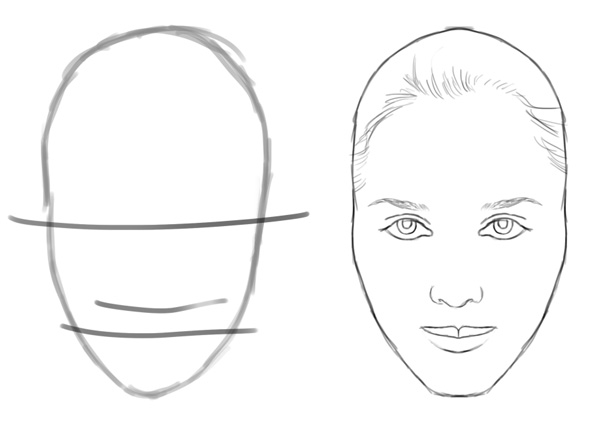 Draw a Face in Adobe Photoshop
