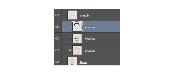 Paint in Photoshop with Clipping Masks