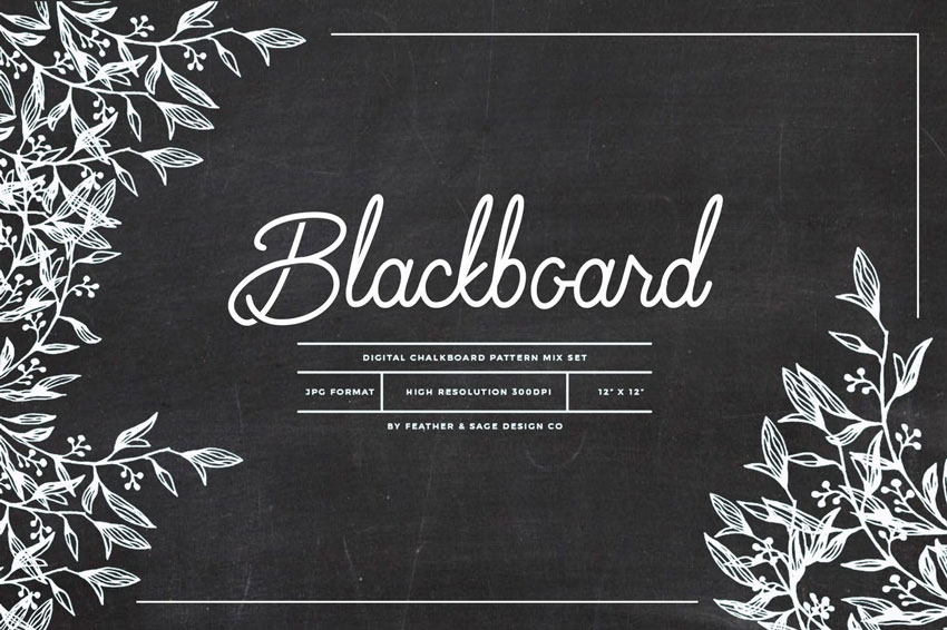 Blackboard Patterns