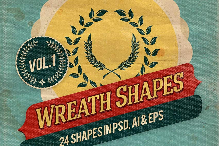 Wreath Shapes Vol1