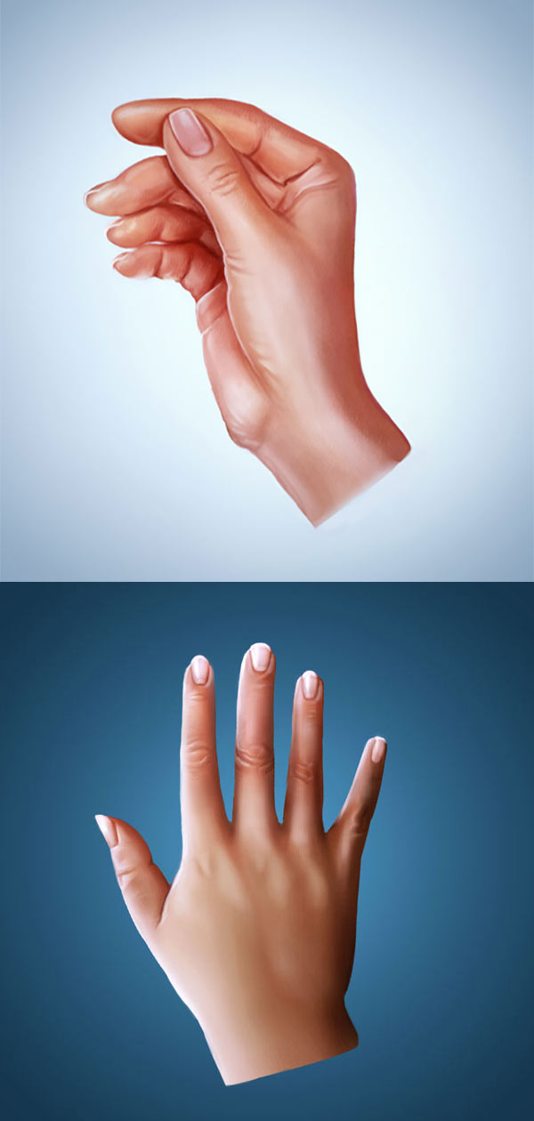 How to Paint Realistic Hands in Adobe Photoshop