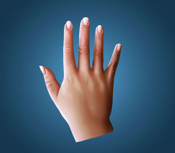 How to Digitally Paint Hands in Photoshop Art by Melody Nieves
