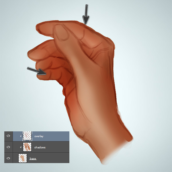 How to Paint Realistic Hand Colors in Photoshop