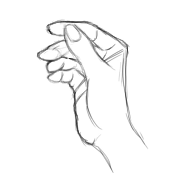 How to Sketch a Hand in Photoshop