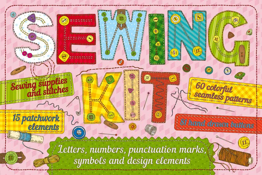Illustrator Sewing Kit
