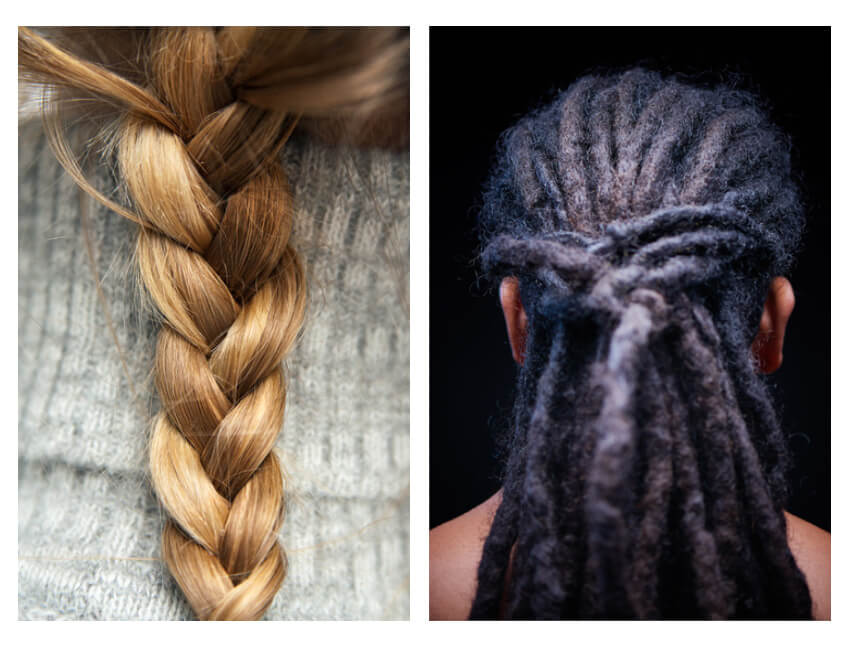 How To Paint Realistic Hair In Adobe Photoshop Braids And Dreadlocks