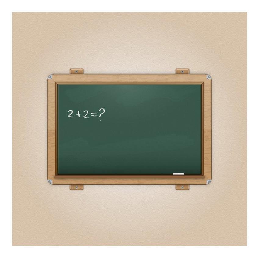 Vector Chalkboard Icon Mario Rocchi