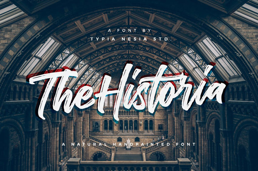 The Historia Typeface