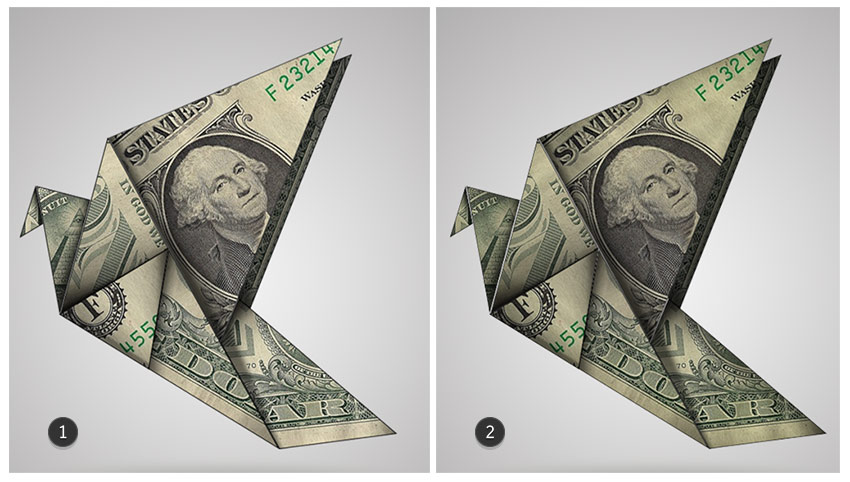 Origami Before and After Blending Options