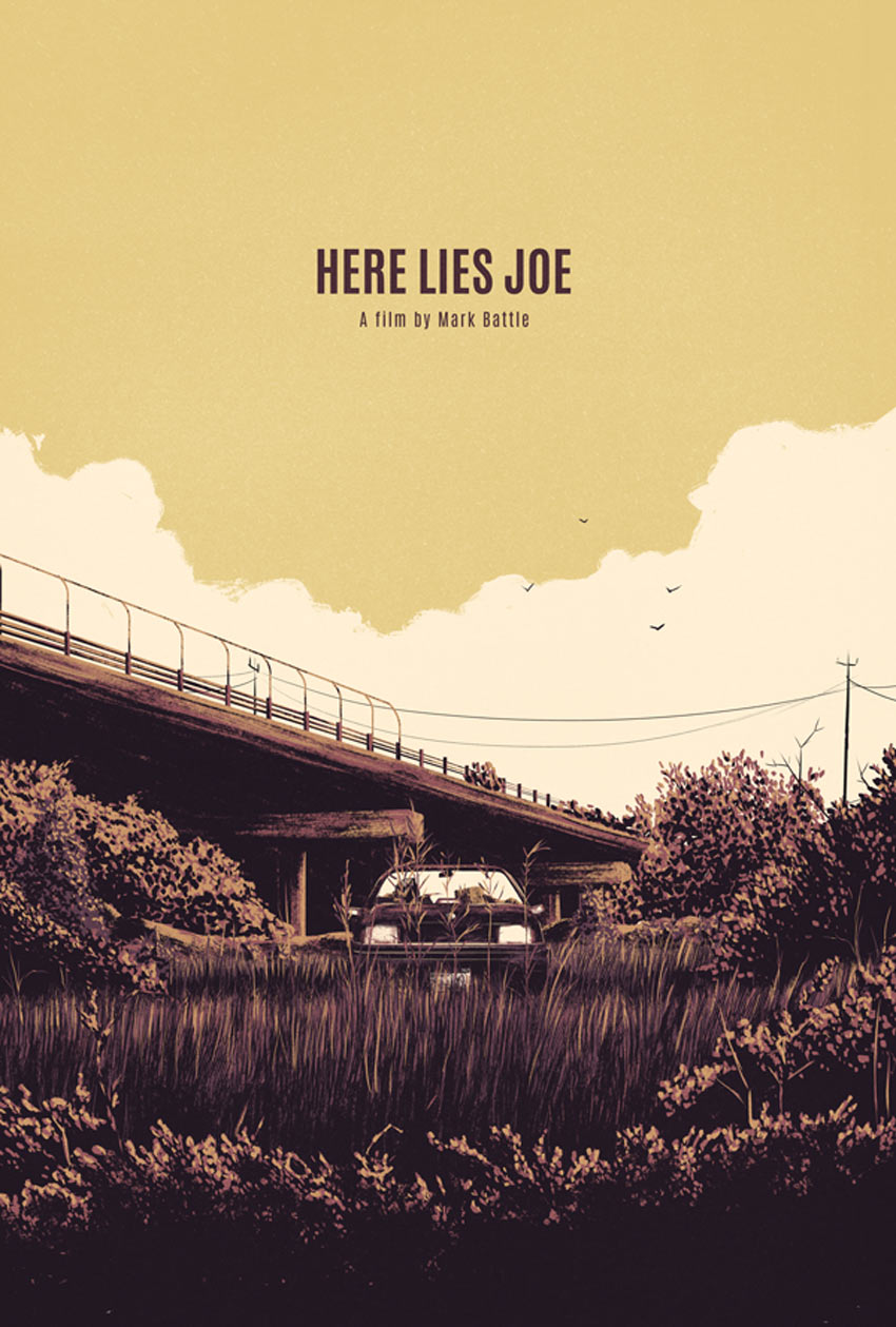 Here Lies Joe Art by Marie Bergeron