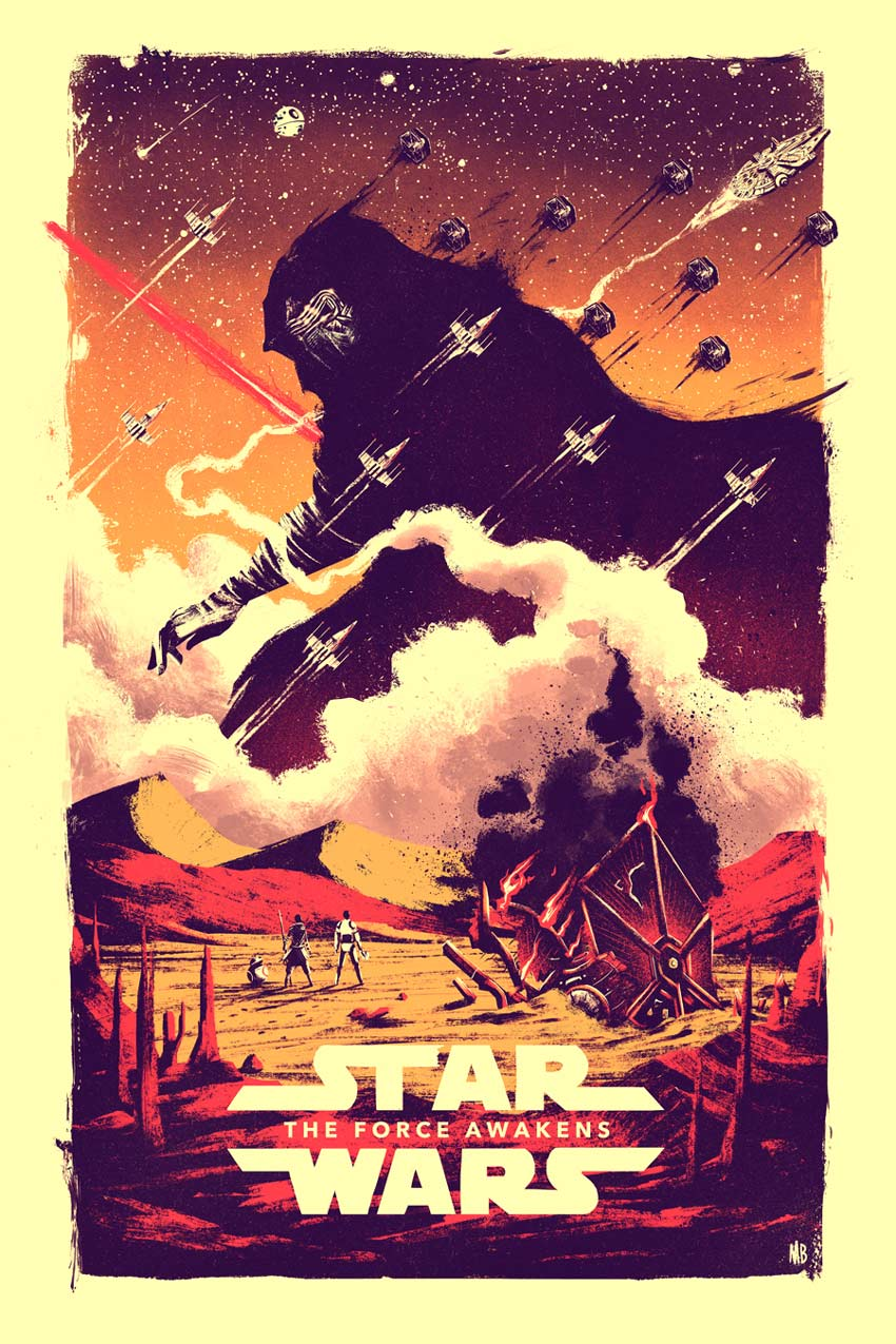 Marie Bergeron Star Wars Art