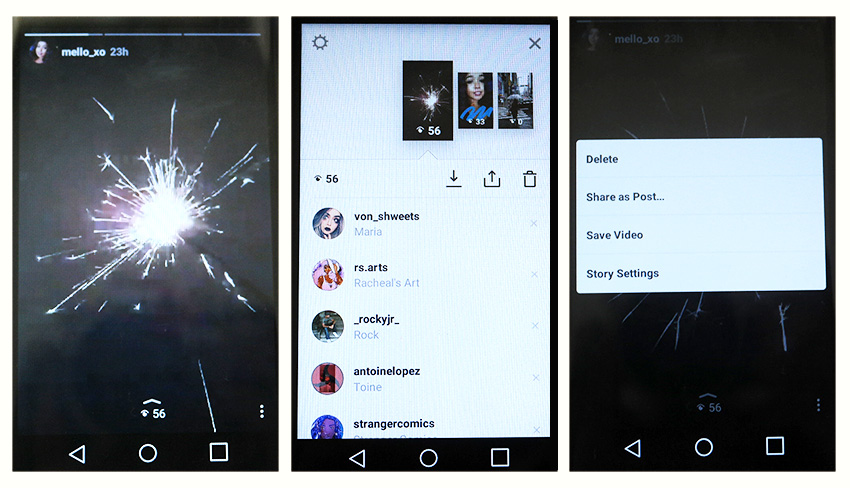 Now you see me how to get started with instagram stories how to cancel save and delete instagram stories ccuart Images