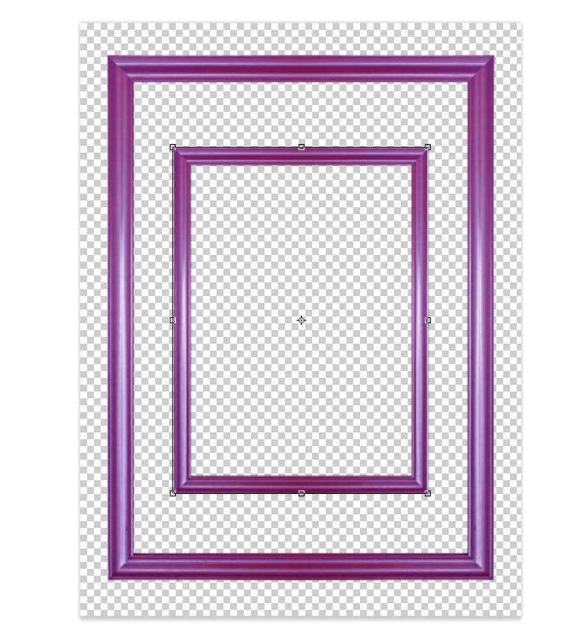 Create a Duplicate and Resize the Frame
