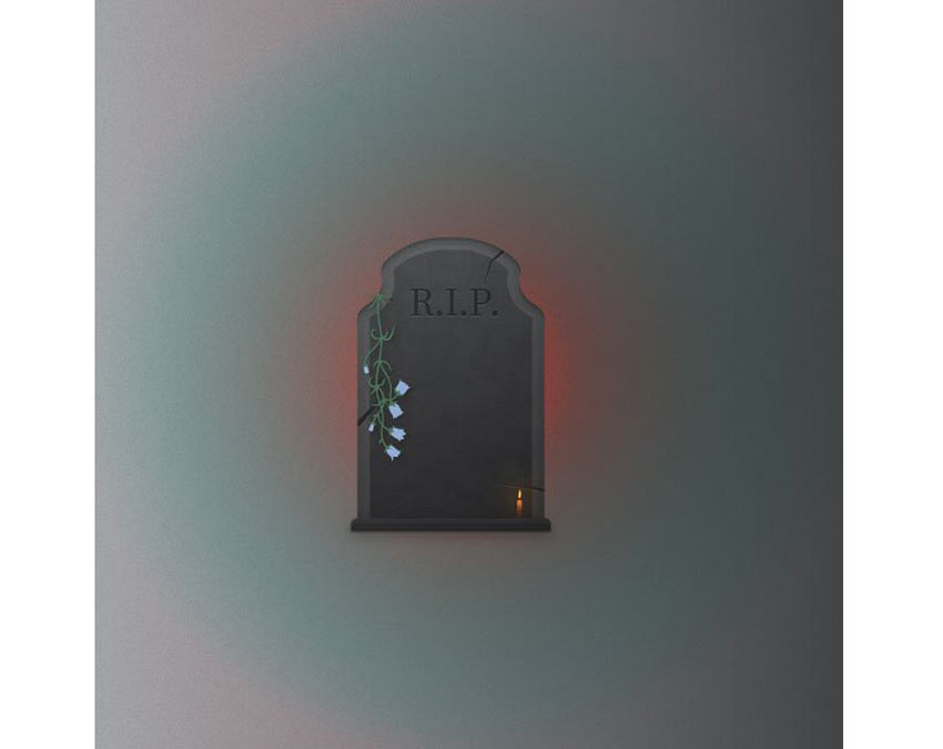 Adobe Illustrator Halloween Gravestone by Butu